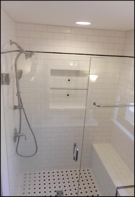 subway tiled baths