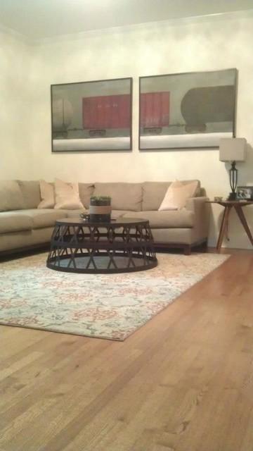 Neutral Living Room contemporary-family-room