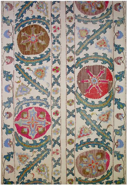 Robert Kime Tashkent Fabric mediterranean-fabric