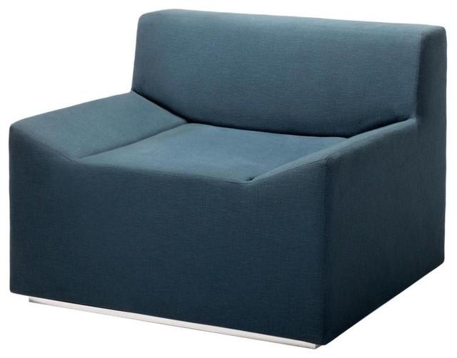 Blu Dot Couchoid Lounge Chair - Ocean modern-living-room-chairs