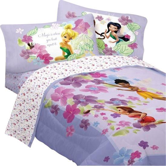 Disney Fairies Twin Bedding Set Magic Art Comforter Sheets - Contemporary - Kids Bedding - by ...