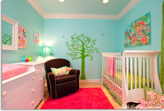 Whimsical, Asian Inspired Nursery  kids