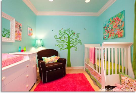 Whimsical, Asian Inspired Nursery kids