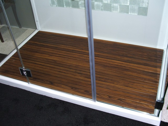 Teak shower mat by teakworks u