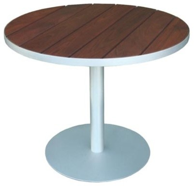 Modern Outdoor Luma Cafe Table Modern Outdoor Dining Tables By