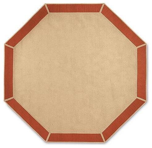 Sunbrella Bordered Area Rug traditional-rugs