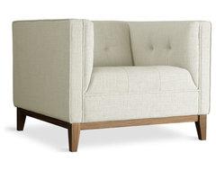 Gus Modern Atwood Chair, Cabana Hemp modern-accent-chairs