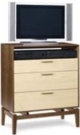 Soho 3 Drawer TV Organizer By Copeland traditional-dressers