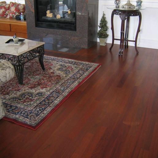 Brazilian Cherry Hardwood Flooring Modern Hardwood Flooring Portland By Fantastic Floor