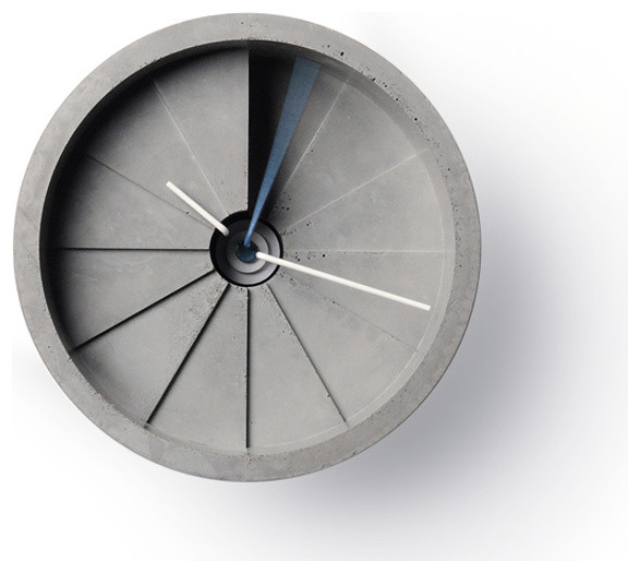 4th Dimension Concrete Wall Clock  clocks