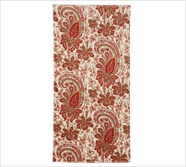 ... Organic Bath Towel, Red - Traditional - Bath Towels - by Pottery Barn