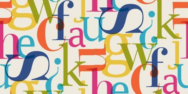 Alphabet - Wallpaper - by Wallpaperdirect