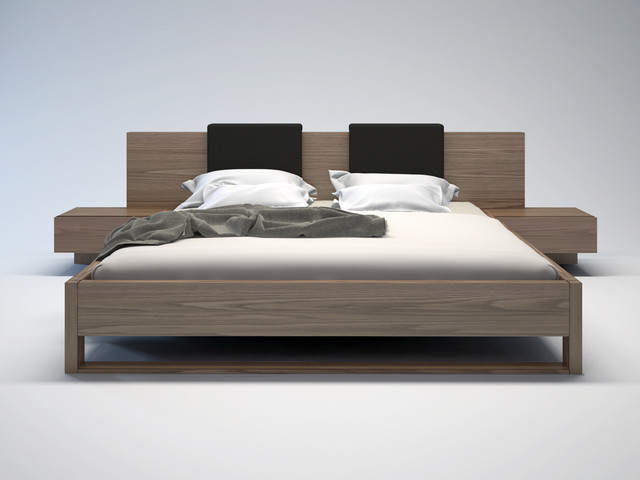 Monroe bed modern beds san diego by real deal furniture mattress - Modern bed ...