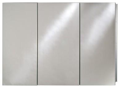 Afina Broadway Surface Mount Triple Door Medicine Cabinet - 48W x 4D x 30H in. modern-medicine-cabinets