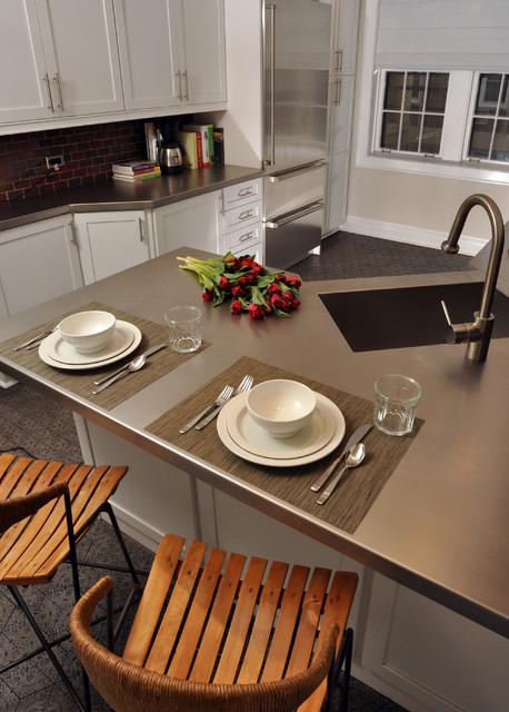 Evanston Kitchen Rehab contemporary-kitchen