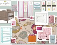 Interior Design Online/ E-design eclectic-nursery-decor