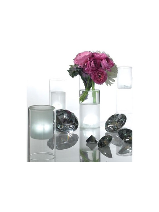 Frosted Tealight Candle Holders - Frosted Tealight Candle Holders.