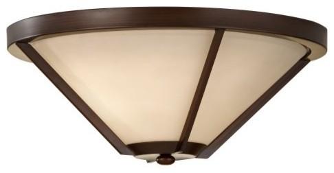 Murray Feiss FM365HTBZ Nolan 2-Light Indoor Flush Mount contemporary-ceiling-lighting