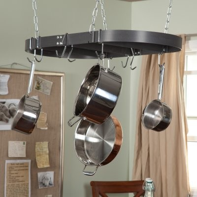 Calphalon 36-in. Oval Pot Rack modern-indoor-pots-and-planters
