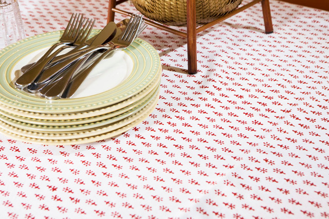 Country Table Linens tropical-dining-tables