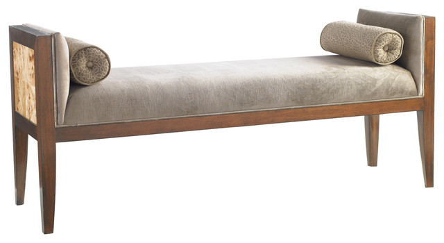 Bette Bench - traditional - bedroom benches - by Furnitureland South