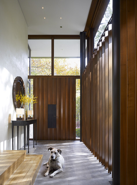 Lake Shore Drive Residence contemporary-entry
