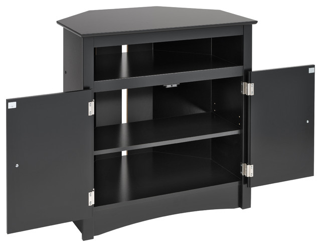 Prepac Sonoma Tall Corner TV Cabinet - Modern - Furniture - new york - by BA Furniture Stores