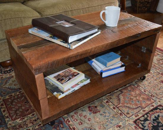 Reclaimed Wood Coffee Table - Reclaimed Wood Coffee Table