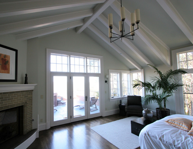 traditional bedroom by Taylor Lombardo Architects