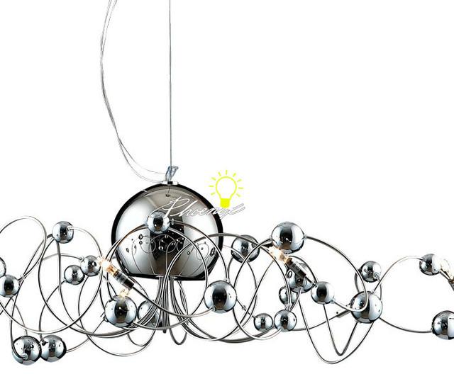 Dancing Plating Ball Pendant Lighting contemporary-pendant-lighting