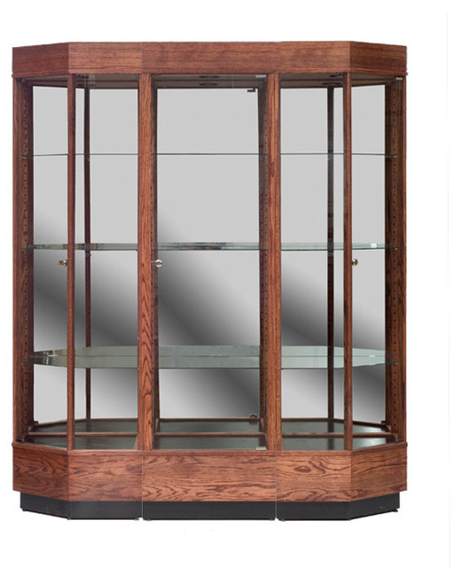 3 Piece Wall Display Case - Contemporary - Display And Wall Shelves - kansas city - by Display-Smart