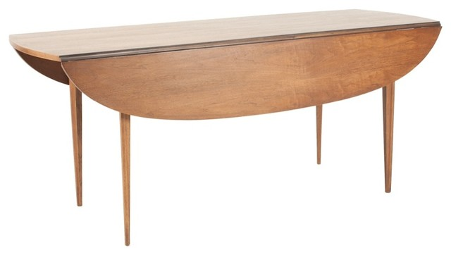 Consigned Mid Century Modern Brasilia Drop Leaf Table by ...