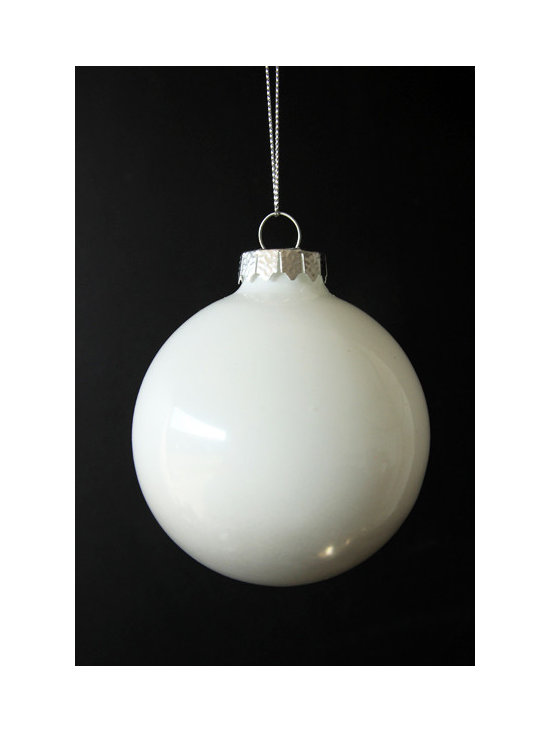 Ombre Bauble Christmas Decoration - Smoke -