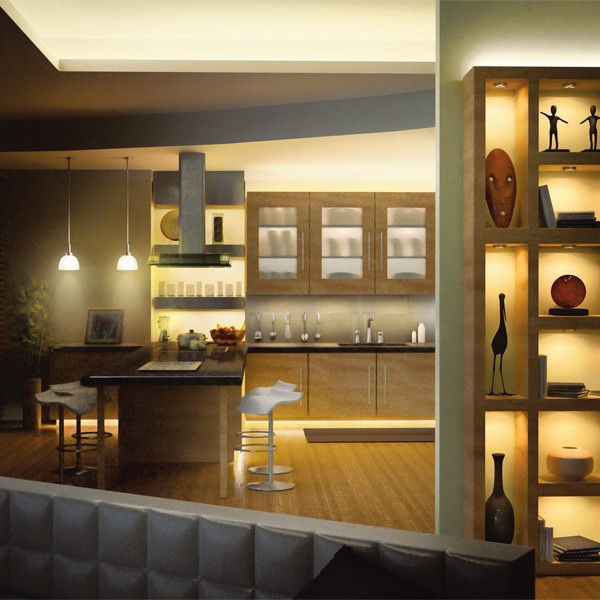 Led Lighting Kitchen Under Cabinet: LED Under Cabinet Lighting