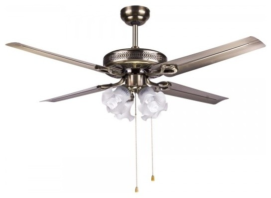 Traditional Harbor Breeze Bamboo Ceiling Fans Light 50 Quot Traditional Ceiling Fans Other