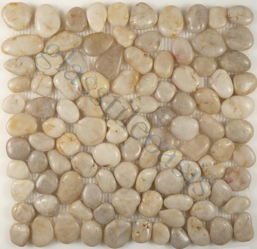Light Smoke Pebbles And Stones Grey Anatolia Pebble Tiles