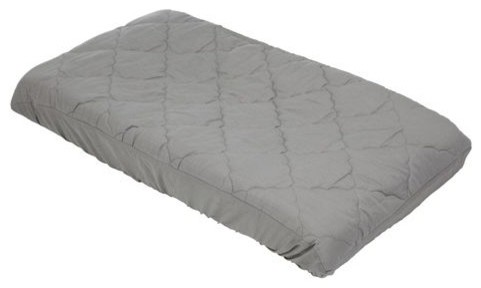 Changing Pad Cover - solid grey contemporary-changing-tables