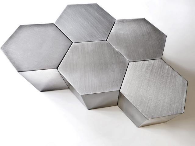 Hex Tables modern-coffee-tables