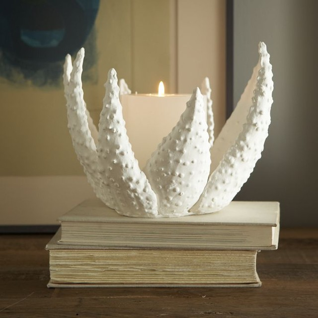 Ceramic Matters Candleholder, Aloe eclectic candles and candle holders