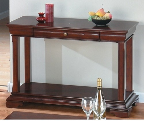 Miniatures Console Table modern-side-tables-and-end-tables