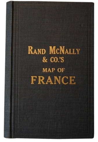 Fold-out Map of France eclectic-books