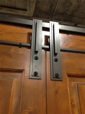 barn door hardware - Industrial - other metro - by Basin Custom