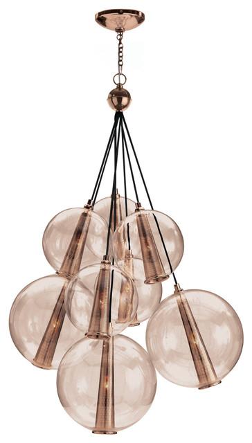 Caviar adjustable large cluster suspension modern pendant lighting - Caviar pendant light ...