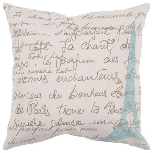 Script 18 x 18 Pillow modern-decorative-pillows