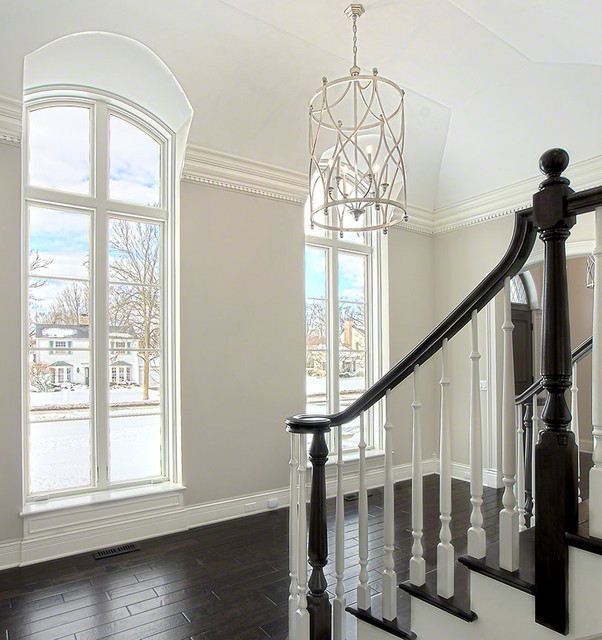New Custom Home in Glenview traditional-staircase