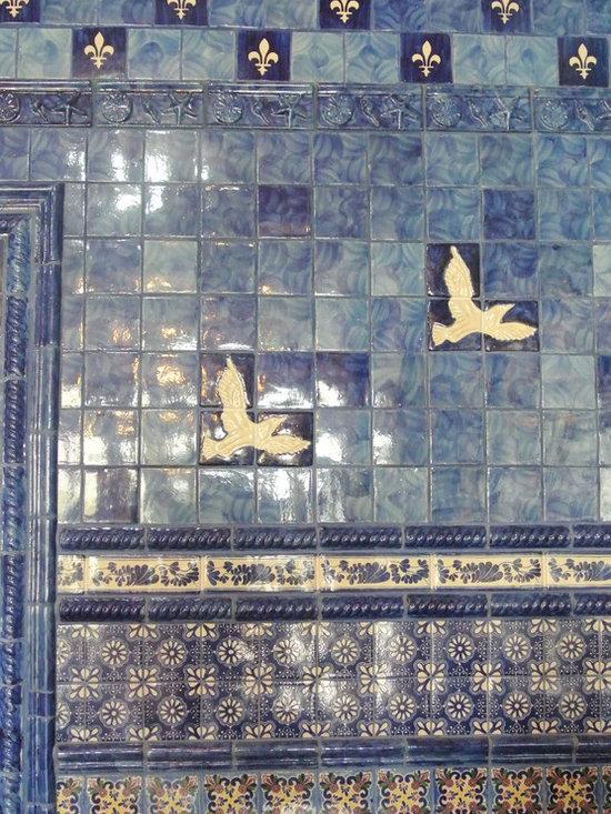 Brush Handpainted Ceramic Tile Collection -