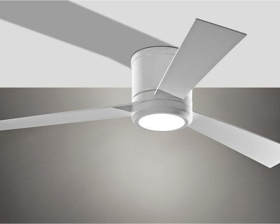 Monte Carlo - Thirty Six Light White Hugger Ceiling Fan - Thirty Six Light White Hugger Ceiling Fan