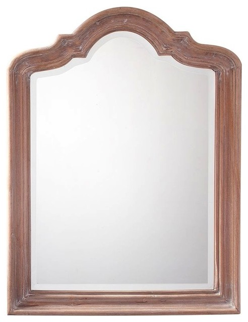Germain Arched Mirror - Wall Mirrors - by Pottery Barn