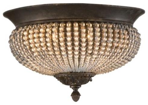 Cristal de Lisbon Flushmount by Uttermost modern-lighting