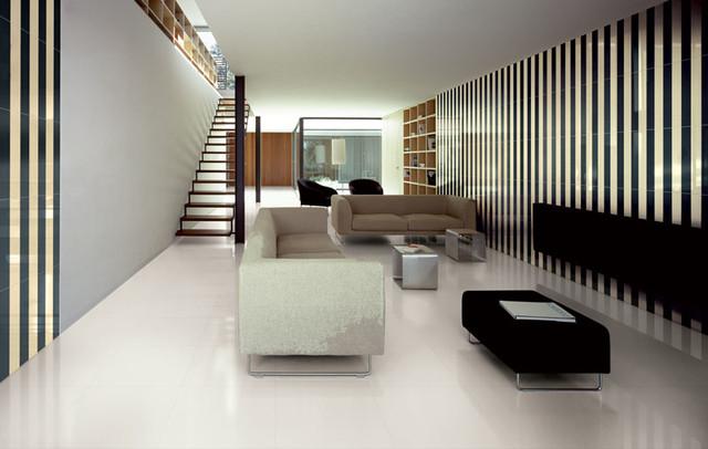 True White Plane modern-living-room